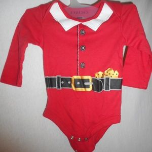Cute red Santa outfit Holiday one piece